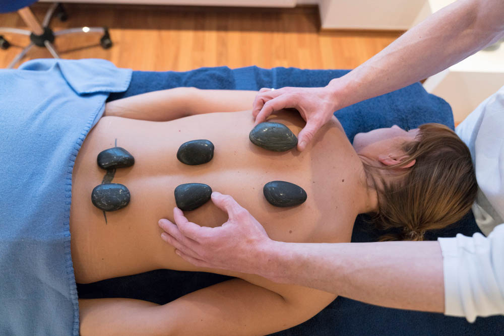Physiotherapie Hot Stone